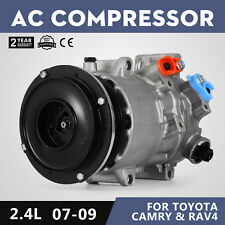 AC Compressor CO 11178JC fit 2006-2008 fit Toyota RAV4 & 2007-2009 Camry 2.4L L4