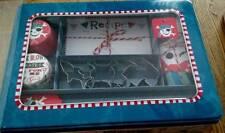 Meri Meri Pirate Baking Set in Tin Cookie Cutters, Wrappers, Spatula More NEW