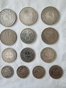 Münzen deutschland konvolut