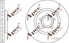 FRONT BRAKE DISCS (PAIR) FOR FORD FOCUS GENUINE APEC DSK2980