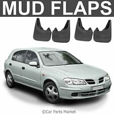 Mud Flaps Splash guard for Nissan Almera mudguard set of 4x front and rear
