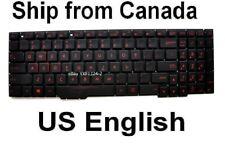 For Asus GL553VE ZX553VD FX553VD Keyboard Red backlit Canadian Clavier Read Care