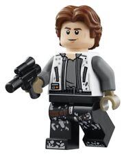 LEGO STAR WARS STORY MINIFIGURE HAN SOLO WITH BLASTER 75209 LANDSPEEDER