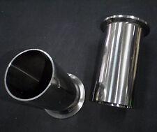 "STAINLESS STEEL WELD FERRULE 1""O.D. X 4"" LONG SANITARY PIPE TUBING 25mm"
