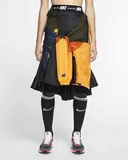 Nike Nikelab X Sacai Womens Skirt Kleid CD6299 010 Black University Gold XS/S/M