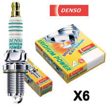 Set 6 Spark Plugs Iridium Power DENSO 5343 IKH16 High Performance & Response V6