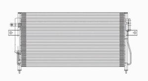 A/C Condenser  TYC  3100