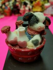 Mary Moo Moos Figurine - I Pour Out My Love For Moo