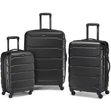 "Samsonite Omni Hardside Luggage Nested Spinner Set (20""/24""/28"") Black (68311-10"