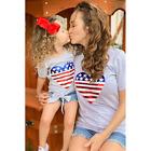 Girls Patriotic Heart Shirt
