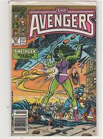 AVENGERS #281 John Buscema Captain Marvel Black Knight She-Hulk Thor 9.0