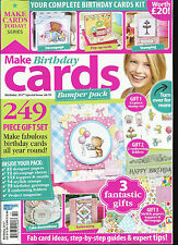 MAKE BIRTHDAY CARDS,  SPECIAL ISSUE,  BIRTHDAY, 2017   SORRY  FREE GIFTS MISSING