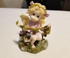 Ceramic Tabletop Ornament Fairy With Vine