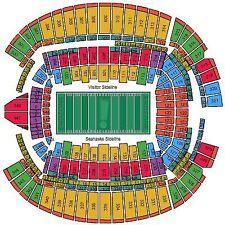 Seattle Seahawks vs Los Angeles Rams October 7 CHR107 Row T Seats 1-2