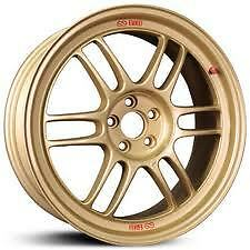 Enkei RPF1 17x9 Racing Wheel GOLD 5x100 + 45 Subaru WRX STI Cobalt SS 17 BY 9