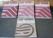 Honda Legend 4 Door '88 Workshop Manual Genuine Honda Very Very Rare!!