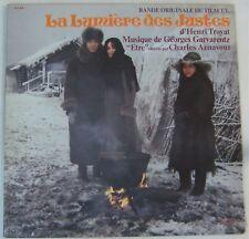 Aznavour Garvarentz 33 tours Lumière des justes 1979