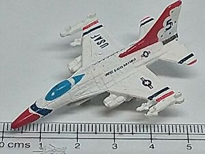 MICRO MACHINES MILITARY Aircraft General Dynamics F-16 Falcon Thunderbirds # 5
