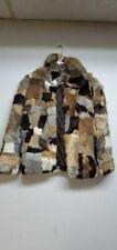 Vintage Montgomery Ward Rabbit Fur Coat Size Small READ DESCRIPTION