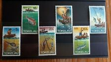 1982 Full Set Of 6 Tokelau Islands Stamps - Fishing Methods - MNH