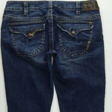 Silver Jeans Tuesday Flap Pockets Boot Cut Jeans Women's 30 Low Rise B549
