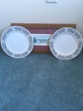ROYAL WENTWORTH AMBASSADOR 2 DINNER PLATES SELECT FINE CHINA
