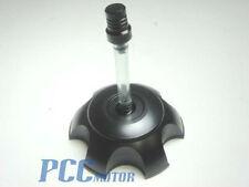 NEW  ALUM GAS PIT BIKE CAP BLACK BILLET SSR110 SDG70 90 107 110 125cc PIT V GC01