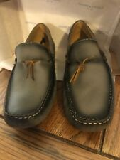 lucky brand Wagner Slip On Steel Gray Leather Shoes Size 10   115-20585