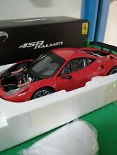 NEW FERRARI 458 ITALIA GT2 Hotwheels ELITE 1:18 Lim. Edition With Box no bbr