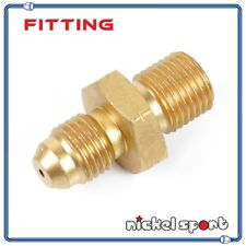 M12 x1.25 - 4AN Fitting Adapter 1.5mm Hole Oil Restrictor