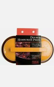 Charcoal Companion, Hamburger Double Patty Press.