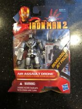 Iron Man 2 AIR ASSAULT DRONE #17 Hasbro 2010 4 Inch Action Figure New