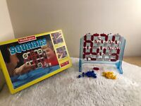 Vintage Waddington Squares Board Game Complete