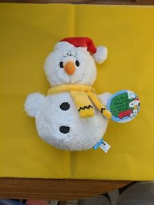 You're a Snowman Charlie Brown, Peanuts Bark Box Dog Toy 2020 M-L - New with Tag