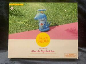 Sun Squad Shark Sprinkler Kids Inflatable Hook to Hose Brand NEW Sealed