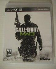 Call of Duty Modern Warfare 3 PS3 PlayStation 3 COMPLETE iii 2 4 Plus BONUS