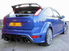 Rally Style Mudflaps FORD FOCUS RS Mk2 RS500 Mud Flaps rallyflapZ Black 4mm PVC