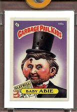 1985 Topps Garbage Pail Kids Series 5 Baby Abie UNPUBLISHED Mini Color Proof
