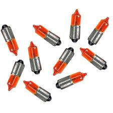 77222050 BOMBILLAS INTERMITENTES 12V 23W NARANJA Paquete de 10 PIEZAS
