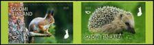 2020 Finland, mammals, squirrel, hedgehog, 2 stamps (self-adhesive), Mnh