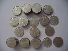 Drittes Reich LOT 60 Stk 2 Reichsmark Silber
