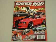 SUPER ROD Aug. 2008 SPECIAL LATE MODEL PERFORMANCE ISSUE + MUCH MORE HOT ROD