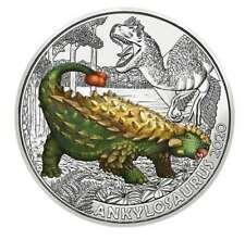 3 Euro Ankylosaurus Super Saurier - Tiertaler Nachfolgeserie - Münze Österreich