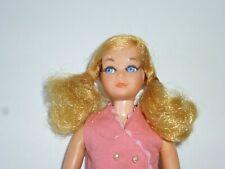 VINTAGE 1960-1970 BARBIE'S SISTER LIVING SKIPPER WEARING PINK DRESS EXC!