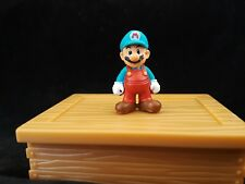 World Of Nintendo Mario Microland Ice Mario Miniature Figure free shipping on 3+