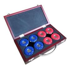 NEW BlueWave Products SHUFFLEBOARDS NG1223 Shuffleboard Pucks W/ Case-Set Of 8