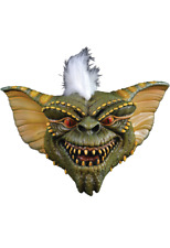 Halloween Gremlins Stripe Adult Latex Deluxe Mask W/ Hair Costume Haunted House