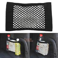 Auto Car Seat Side Back Storage Mesh Net Pouch Bag Phone Holder Pocket Organizer
