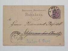 (m48) German Empire whole thing p18 I Metz 1889 N. ziskov in Prague