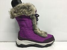 Girls' THE NORTH FACE Nuptse Faux Fur II Winter Boots Size 2